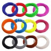Пластик АБС для 3D-ручки, 12 цветов