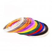 Пластик ПЛА для 3D-ручки, 12 цветов
