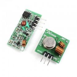 Беспроводной передатчик + приемник 433Mhz для Arduino