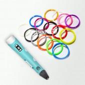 3D ручка 3DPEN-2 и набор ПЛА пластика